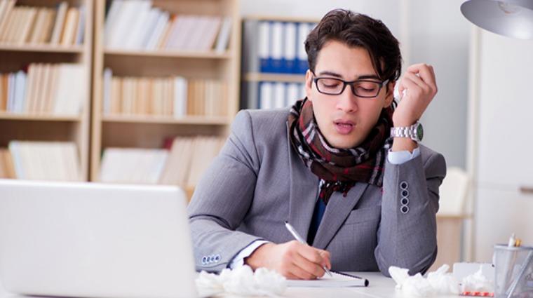 工作注意力難集中險丟業績 竟是鼻過敏惹的禍